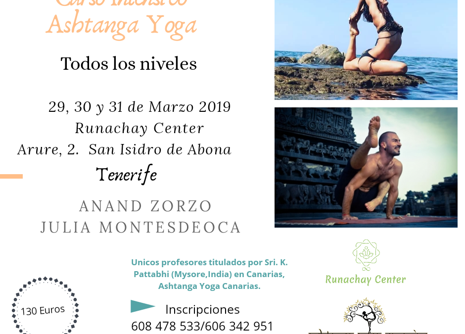 INTENSIVO ASHTANGA YOGA
